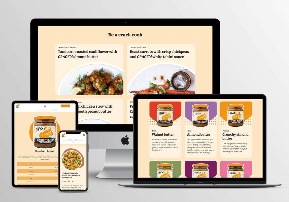 CRACK'd - Website Development